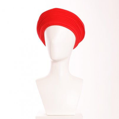 Chapeau Margot Maille Rouge