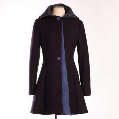 Manteau Grand Large Bleu Nuit