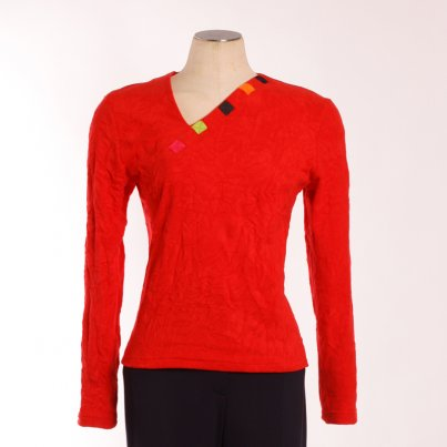 Pull Maillapart Rouge
